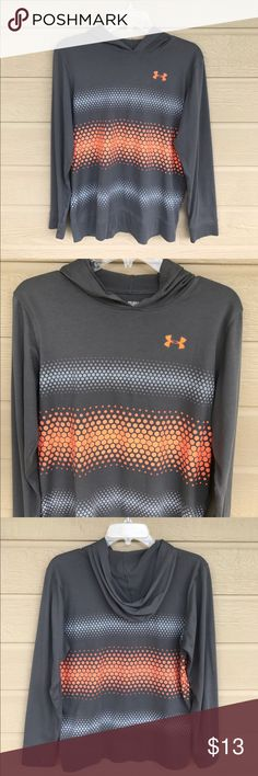 Under Armour HeatGear Long Sleeve Shirt Like New - My Son Gently Wore this shirt before out growing it. It is a Size Youth XL Loose Fit! Under Armour Shirts & Tops Tees - Long Sleeve