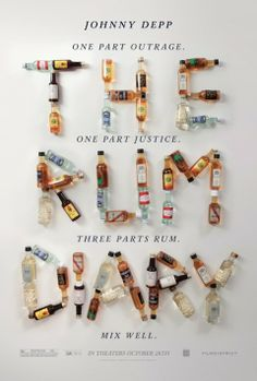 The Rum Diary poster has premiered. The Rum Diary stars Johnny Depp. Lettering, Typography Letters, Typography Design, Creative Typography, Typography Poster, The Rum Diary Movie, Book Cover Design, Book Design, Little Dorrit