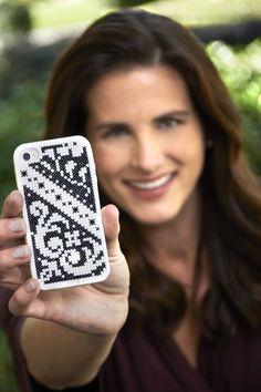 Sewing Secrets: Customize your iPhone case with Stitchery! www.coatsandclarksewingsecrets.blogspot.com