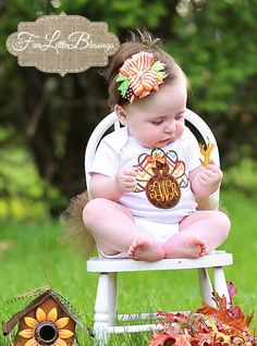 First Thanksgiving - Thanksgiving shirt - Baby shower gift - Thanksgiving outfit - Baby - Toddler - newborn - girl thanksgiving shirt by 5littleblessings on Etsy https://www.etsy.com/listing/129261965/first-thanksgiving-thanksgiving-shirt