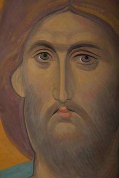 Religious Icons, Religious Art, Christ Pantocrator, Jesus Face, Russian Icons, Art Icon, Orthodox Icons, Sacred Art, Fresco