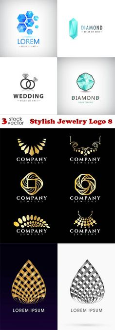 Vectors - Stylish Jewelry Logo 8                                                                                                                                                                                 More