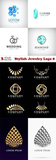 Vectors - Stylish Jewelry Logo 8                                                                                                                                                                                 More
