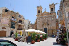 Rabat, Gozo my fathers village and church.. San Gorg Basilica