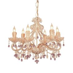 Crystorama Paris Flea Market 6 Light Candle Chandelier & Reviews | Wayfair