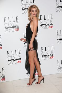 Rosie Huntington-Whiteley at Elle Style Awards 2015 at Sky Garden