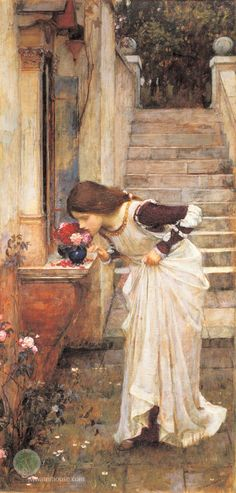 """The Shrine"", John William Waterhouse"