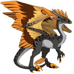 KittyGoesMeow's dragon Zucca - Breed, raise, and train dragons on Flight Rising!