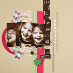 An amazing Scrap booking site with all sorts of ideas and tutorials.