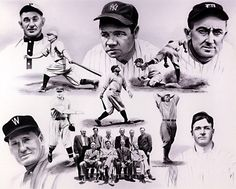 Image result for baseball hall of fame first members images