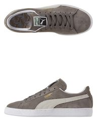 PUMA - SUEDE CLASSIC TRAINERS - STEEPLE GRAY WHITE. Get marvelous discounts up to 50% Off at SurfStitch using coupon and Promo Codes.