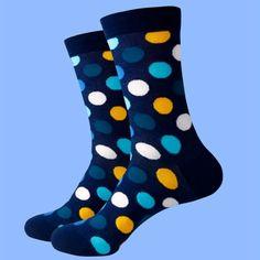 Navy Socks, Brown Socks, Multi Coloured Socks, Blue Yellow, Navy Blue, Cotton Socks, Navy Color, Royal Blue, Calves
