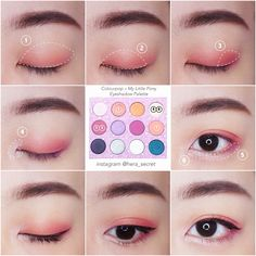 Eyeliner Tutorial - Eyeliner Tips Korean Makeup Tips, Korean Makeup Look, Korean Makeup Tutorials, Asian Eye Makeup, Smokey Eye Makeup, Makeup Eyeshadow, Eyeshadow Base, Eyebrow Makeup, Maquillage Normal