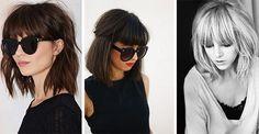Fryzury z grzywką są zawsze modne. Wszystko dlatego, że są ponadczasowe. Dodatkowo mogą być stylizowane na wiele sposobów i nie ograniczają się do zaledwie jednego cięcia. #ombre #2016 #kobiece #cięcia #fale #koki #ciemne #stylowa #awangardowa #damska #fryzura #kobieta #włosy #grzywka #grzywką
