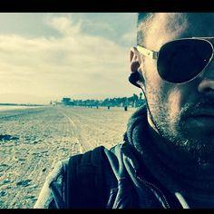 """Mi piace"": 3,851, commenti: 44 - Patrick John Flueger (@pjflueger) su Instagram: ""Beach Bummin # TheHiatusBeardBegins"""