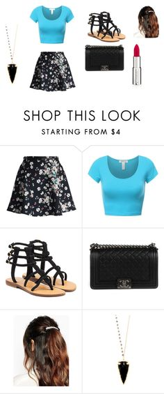 """""""Date night  Or goting out with the girls"""" by kirahj28 on Polyvore featuring Chicwish, Mystique, Chanel, Suzywan DELUXE, Heather Hawkins and Givenchy"""