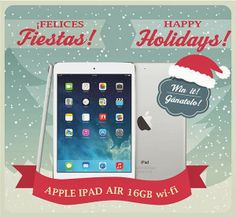 WIN ipad 16gb wifi #ipadair #holidaygiveaway
