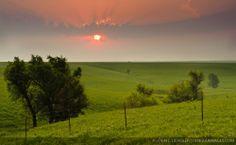 kansas scenery | Hills National Scenic Byway (Kansas State Highway 177) in the Kansas ...