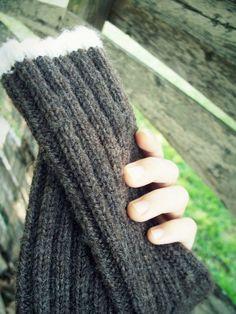 purls & ivy - men's wool hunting socks:  hand-knit virgin wool