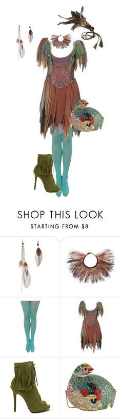 """""""Pixie Hollow Hide-a-way"""" by glamourgrammy ❤ liked on Polyvore featuring Valentino, Zandra Rhodes and Judith Leiber"""