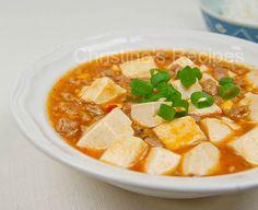 Mapo Tofu (麻婆豆腐) - Christine's Recipes: Easy Chinese Recipes. I used Lee Kum Kee's Mapo Tofu Sauce.
