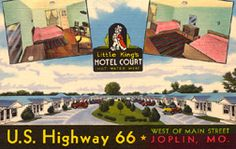 More Motel Postcards