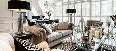 Styl nowojorski z nutką glamour w nowoczesnych wnętrzach | IH - Internity Home