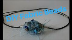 Wire Wrapped Fabric Beads DIY Tutorial