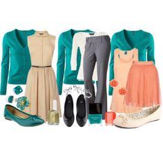 Teacher Outfits on a Teacher's Budget 24: Turquoise Cardigan