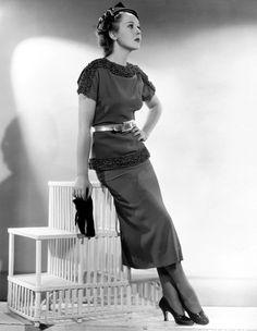 """annies-classic-beauties:  """"Ida Lupino, 1936  """""""