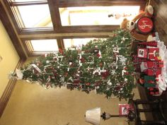 Another Red and White christmas tree