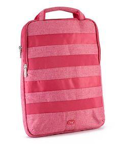 288a39935929 Lug Rose Pink Slider Laptop Case