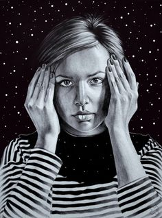 Pen Portraits by Sasha Ushkevich