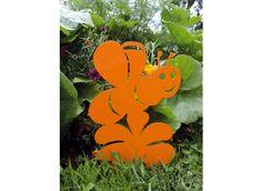 Figurine en métal abeille à planter - Jardin et Saisons