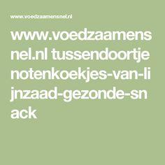 www.voedzaamensnel.nl tussendoortje notenkoekjes-van-lijnzaad-gezonde-snack