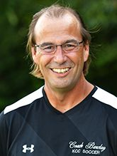 Mike Barclay, head coach soccer