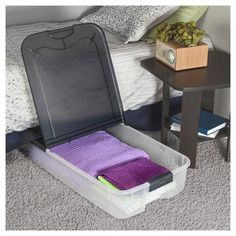 Sterilite Under Bed Storage Glamorous Sterilite® Clearview Latch™ 60 Qt15 Gals Target Mobile Review