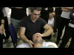 Massage technique. Neck & Shoulder supine
