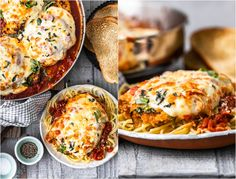 Chicken Parmesan is a classic dish that seems to be loved by all. This crispy chicken parm is the BEST Chicken Parmesan recipe ever. It's so easy and so delicious. Make it for an easy weeknight dinner, or a special occasion! Chicken Cutlets, Breaded Chicken, Crispy Chicken, Chicken Meals, Healthy Food Swaps, Healthy Recipes, Delicious Recipes, Greek Recipes, Italian Recipes