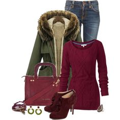 Winter coats with jeans outfits | winter outfits