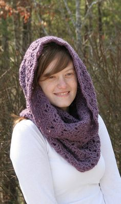 Cowl Scarf Women's Crochet Snood Scarf /The by crochetgallery,