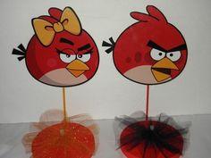 Centros de mesa fáciles de Angry Birds - http://xn--manualidadesparacumpleaos-voc.com/centros-de-mesa-faciles-de-angry-birds/
