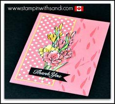 Gift of Love Stampin Up Host Stamp Set card by Sandi @ www.stampinwithsandi.com