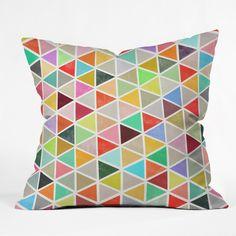 Garima Dhawan Unfolding 3 Throw Pillow | DENY Designs Home Accessories