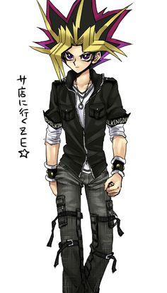 Modern Atem/Yami Yugi is just *Keyboard smash* yummy Yu Gi Oh, Hot Anime Guys, Anime Love, Digimon, Mago Anime, Anime Manga, Anime Art, Geeks, Yugioh Yami