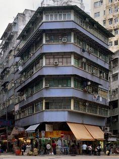 PHOTOGRAPHY - Michael Wolf's Hong Kong Cornerhouses - Hong Wrong Kowloon Walled City, Hong Kong Architecture, Architecture Details, Wolf Photography, Urban Photography, Lee Ho, Hong Kong Building, Michael Wolf, Corner House