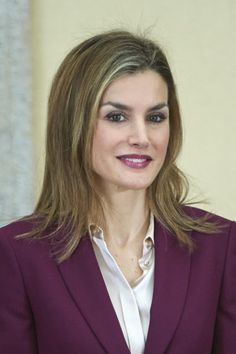 King Felipe VI of Spain and Queen Letizia of Spain attended the ceremony of Fine Arts Golden Medals at El Pardo Palace on February 2, 2015 in Madrid, Spain