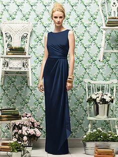 Dessy Dress long - Midnight Blue