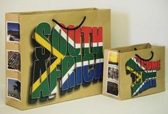South African Flag Bag (Large & Small) South African Flag, Paper Carrier Bags, Large Bags, Country, Inspiration, Beautiful, Biblical Inspiration, Rural Area, Carry All Bag