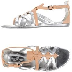 Hogan Toe Post Sandal